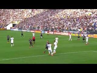 Vladimir faz defesa Incrível - Corinthians x Santos 05/04/2015