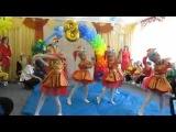 танец рыбок в детском саду