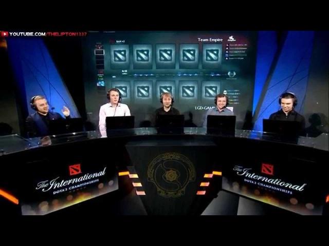 Аналитика LGD vs Team Empire | КАРТА 1 | The International 5 | Верхняя сетка винеров | 03.08.2015