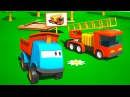Meraklı kamyon Leo ve itfaiye arabası eğitici çizgi film türkçe