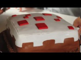 MINECRAFT CAKE How To!