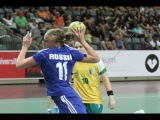 Russia vs Brazil - Womens Final - 22nd World University Handball Championship 2014 - Guimares