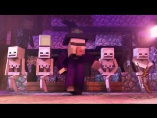 [Майнкрафт Мультфильм] Танцы с ведьмою! [Witch Encounter] (Rus by Rissy)