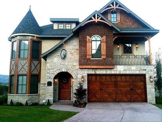 Красивый дом