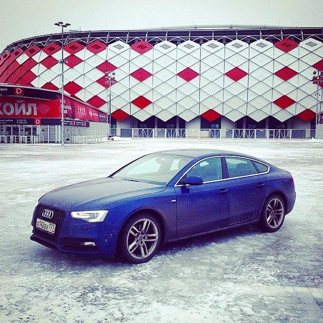 Hi To All Of My Audi A5 Spotvatsk Scuba Blue