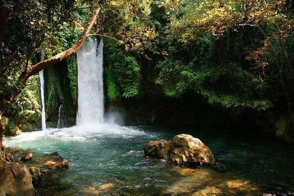 Водопад Баниас, Израиль
