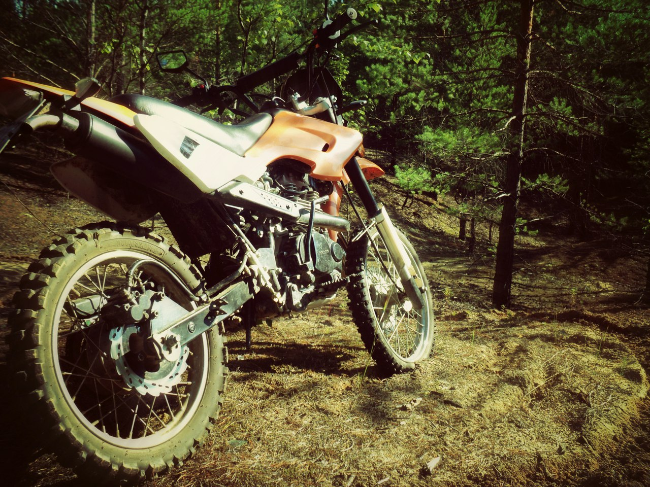 удлинение маятника на мотоцикле honda
