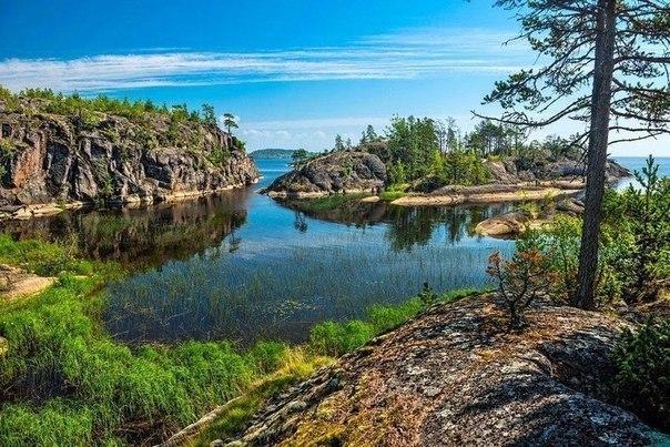 Ладожское озеро, Карелия, Россия