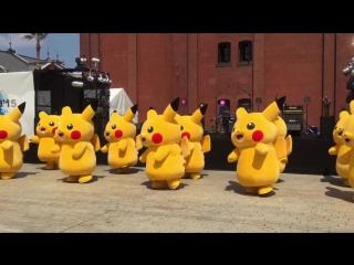 Если у вас был плохой день, просто посмотрите на танцующих пикачу