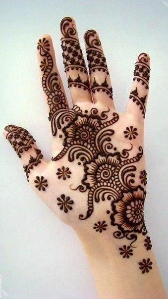 Хна для мехенди - роспись на руке