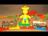 Учим Алфавит с жирафиком Мофи: Пластилиновая Азбука: Лепим Букву Ё: Видео для детей