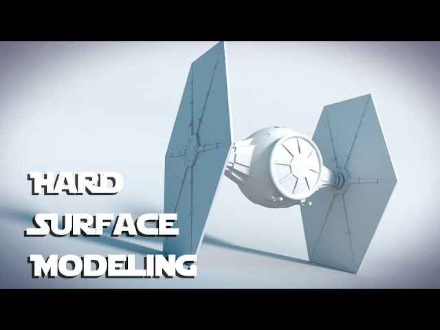 Star Wars Tie Fighter : Blender Tutorial : 01 : Hard Surface Modeling