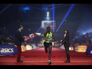 Ethiopia -- Sisay Lemma and Gulume Tollesa: Winners of Frankfurt Marathon (Men & Women's Titles )