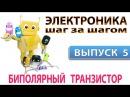 Электроника шаг за шагом - Биполярный транзистор Выпуск 5