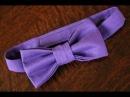 Как сшить галстук бабочку для Вашего малыша