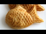 Korean fish-shaped bread with red bean filling (Bungeoppang