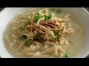 Korean Chicken Noodle Soup from Scratch Kalguksu 칼국수