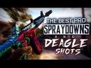 CS:GO   The BEST PRO SPRAYDOWNS DEAGLE SHOTS (The best Juan Deag's, Incredible ACEs) ESL MONTAGE