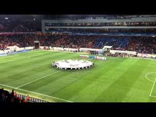Shakhtar vs. Bayern, Champions League, 1/8 finals. Intro. Lviv, Arena Lviv, 17.02.15