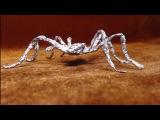 Как изготовить паука из фольги