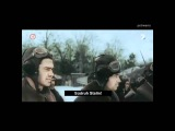 Horrific battle sounds of World War II in Colour