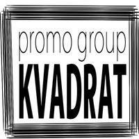 """Логотип Промо-группа """"КвадраТ"""" Екб."""