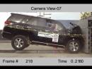 Краш-тест,Crash Test 2010 - 20 Toyota 4Runner (Full Frontal) NHTSA -Авто-Зона.рф безопасность превыше всего euroncap АвтоЗона