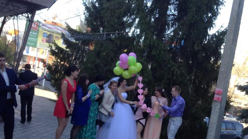 Свадьба Артема и Ирины (Базылюк) Курск 25.04.14