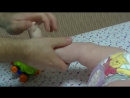 Детский массаж и гимнастика для ребёнка 6 9 мес