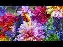 Красивая мелодия и цветочная фантазия для вас, друзья!