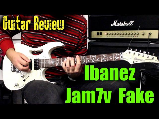 Ibanez Jem7V Fake - Guitar Rewiew