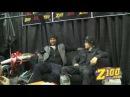 Justin Bieber and Usher backstage @ Z100's Jingle Ball