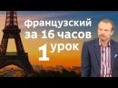 Полиглот французский за 16 часов. Урок 1 с нуля. Уроки французского языка с Петров ...