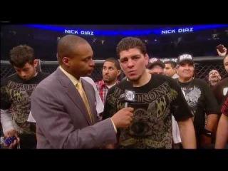 Nick Diaz VS Frank Shamrock HD Part 3 (Post Fight)