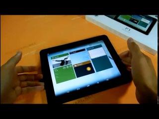 Pipo P1 видео обзор планшета на Aliexpress