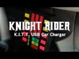 Knight Rider K.I.T.T. USB Car Charger from ThinkGeek