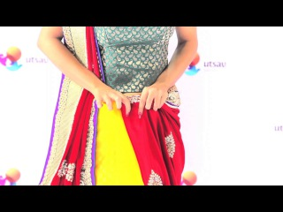 How to wear a Rajrani Style Saree in the DIY Way