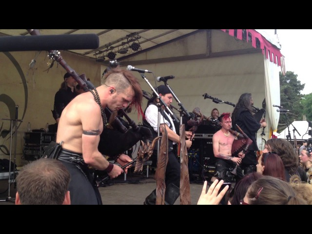 Saltatio Mortis - LIVE - Drunken Sailor [02.06.2013] Spectaculum Worms