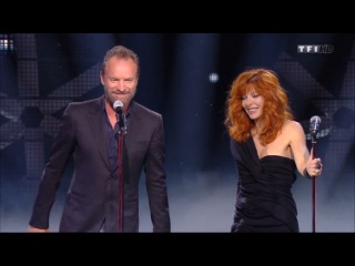 Милен Фармер /Mylène Farmer  Sting Stolen Car Live NRJ Music Awards   2015 TF1 07 11 2015 HD 720