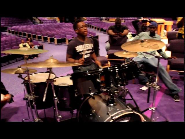 Milwaukee Drummers - Fred Boswell Jr., Kevin Hayden, Quintin Gulledge, PJ Hill @ GospelChops.com