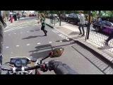 ЗВУК МОТО Пугает пешеходов