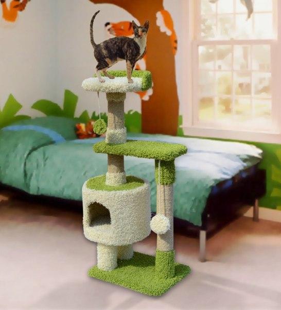 Домик из ковролина для кошки своими руками