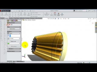 SolidWorks ʬ Tutorial #190car- Engine Air Filter