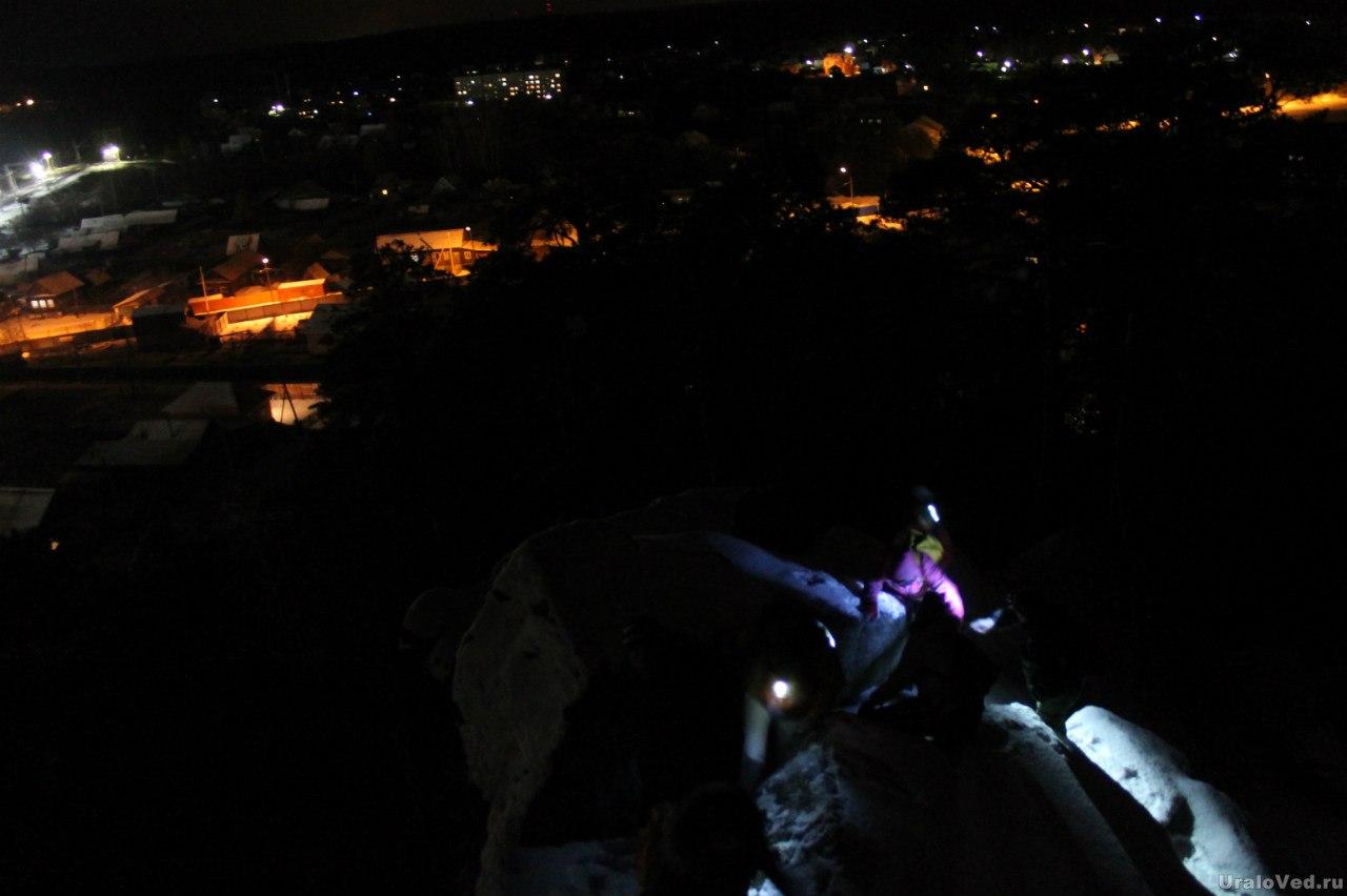 Ночью на Северских скалах