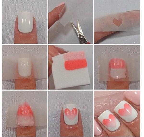 Ногти дизайн своими руками фото