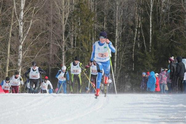 Горячие новости!!! Сегодня на первенстве России по лыжным го
