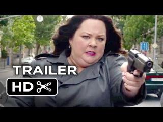 Шпион_Официальный трейлер №1 / Spy Official Trailer #1 (2015) - Melissa McCarthy, Rose Byrne Comedy HD