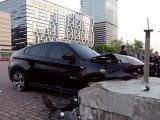 В центре Москвы водитель BMW насмерть сбил мотоциклиста