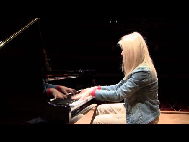 Liszt Hungarian Rhapsody 12. Practice Run. Valentina Lisitsa.