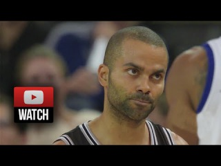 Tony Parker Full Highlights at Warriors () - 28 Pts, 7 Ast, Burial Time!